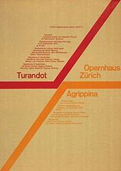 Müller-Brockmann Josef - Turandot / Agrippina