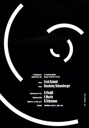 Müller-Brockmann Josef - 5. Frühjahrskonzert