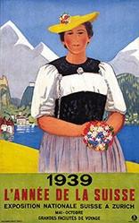 Cardinaux Emil - 1939 L'année de la Suisse