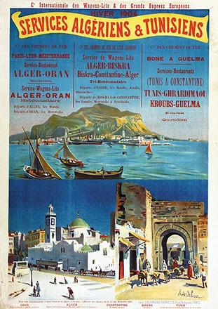 de Ochoa y Madrazo Rafael - Services Algériens & Tunesiens