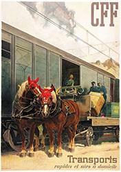 Hugentobler Iwan Edwin - CFF - Transports