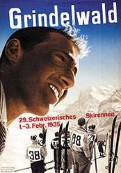 Steiner Heinrich / Heiniger Ernst A. - 29. Schweizerisches Skirennen