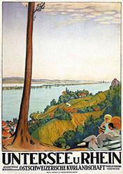 Cardinaux Emil - Untersee und Rhein