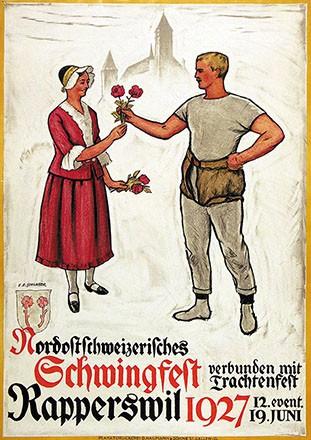 Schlatter Ernst Emil - Nordostschweizerisches Schwingfest