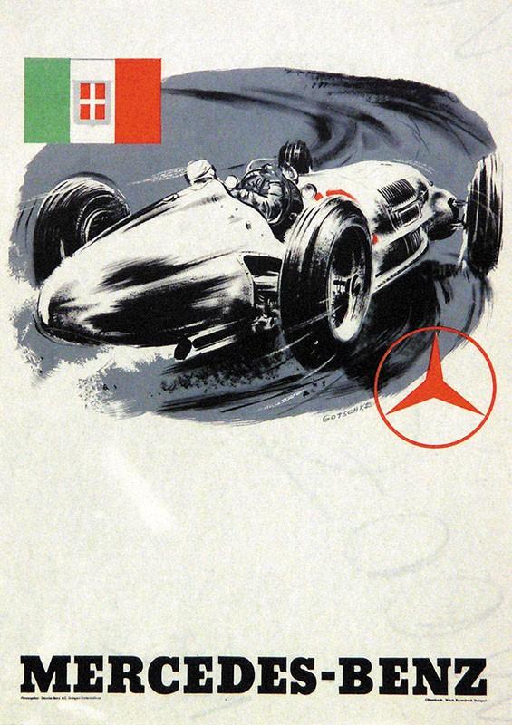 Auktionsergebnisse vorheriger plakat auktionen www for Mercedes benz germany careers