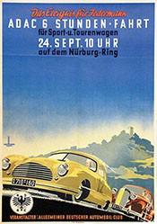 van Husen Ernst Friedrich - ADAC - 6 Stunden Fahrt