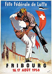 Dessonnaz - Fête Fédéral de Lutte Fribourg