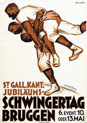 Weiskönig Werner - St. Gall. Kant. Jubiläums-Schwingertag