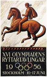 Sjôsvard John - Olympiadens Ryttartävlingar