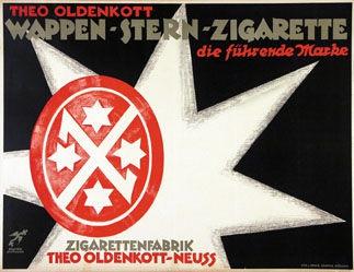Kusiku - Wappen-Stern-Zigarette