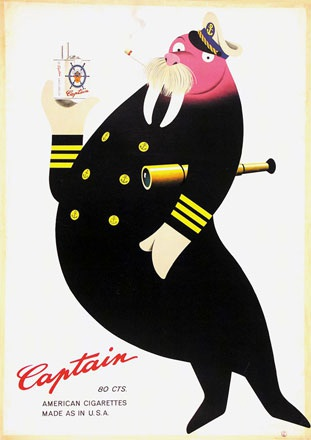 Leupin Herbert - Captain Cigarettes