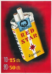 Anonym - Red Star Cigarettes
