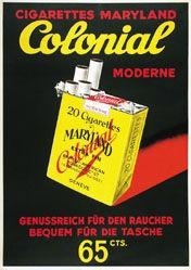 Anonym - Colonial Cigarettes