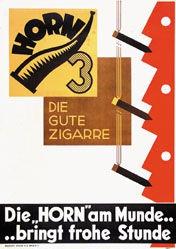 Monogramm PSY - Horn Zigarre