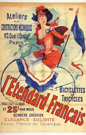 Chéret Jules - l'Etendard Français