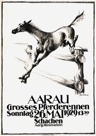 Hunziker Gerold - Pferderennen Aarau