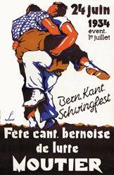 Robert J.E. - Fête cant. bernoise de Lutte