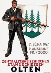 Ernst Otto - Standschiessen Olten