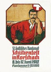 Bächtinger August M. - Schützenfest Rorschach