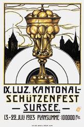 Monogramm F.B. - Schützenfest Sursee