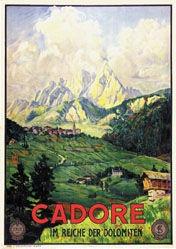 Anonym - Cadore - Im Reich der Dolomiten