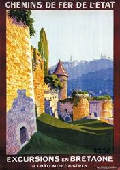 de Renaucourt Henry  - Excursions en Bretagne