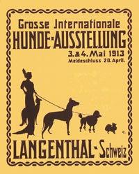 Monogramm C.E. - Hunde-Ausstellung Langenthal