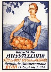 Anonym - Ausstellung für das Obst, gegen den Alkohol