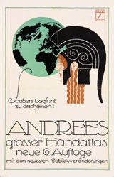 Hohlwein Ludwig - Andrees Handatlas
