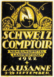 Pernet Percival - Schweizer Comptoir Lausanne