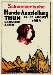Ruprecht Ernst - Hunde-Ausstellung Thun