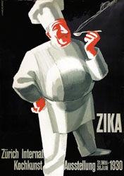 Schupp Eduard - ZIKA - Kochkunst-Ausstellung