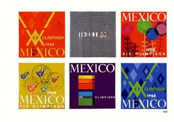 Anonym - Olimpiada Mexico ( 6 Plakate)