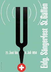 Bosshard Arnold - Eidg. Sängerfest St.Gallen