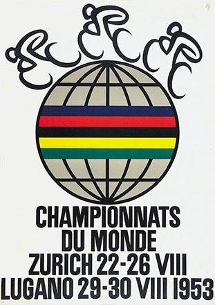 Diggelmann Alex Walter - Championnats du monde Zürich