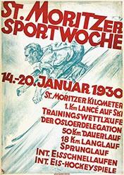 Diggelmann Alex Walter - St. Moritzer Sportwoche