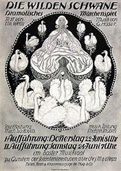 Mangold Burkhard - Die wilden Schwäne