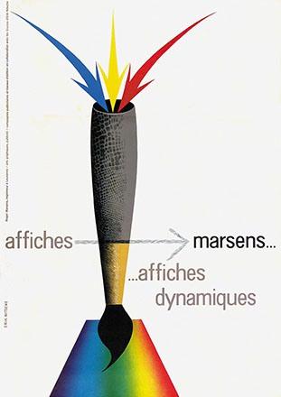 Nitsche Erik - Affiches Marsens