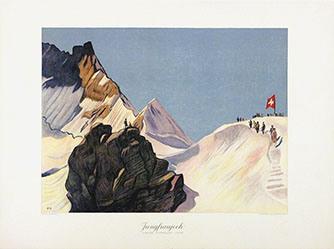 Cardinaux Emil - Jungfraujoch