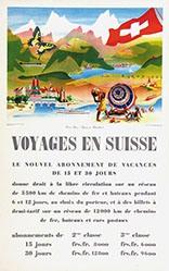 Eidenbenz Willi - Voyages en Suisse