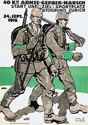 Huber Emil - Armee-Gepäck-Marsch