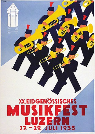 Läubli Walter - Musikfest Luzern