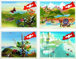 Eidenbenz Willi - Schweiz (4 Motive)