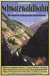 Anonym - Badische Schwarzwaldbahn