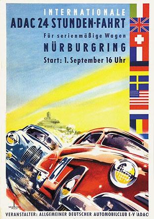 van Husen Ernst Friedrich - Internationale