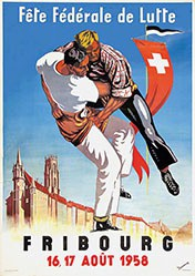 Dessonnaz - Fête de Lutte Fribourg