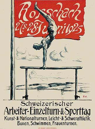 Monogramm FF - Sporttag Rorschach