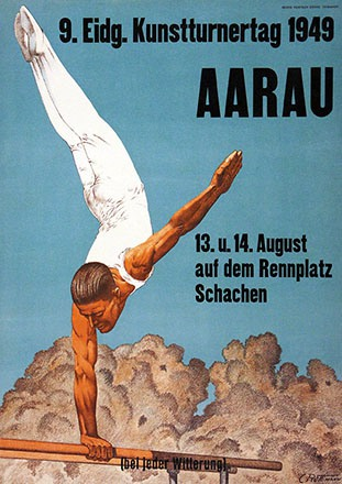 Rüttimann Carl - Kunstturnertag Aarau