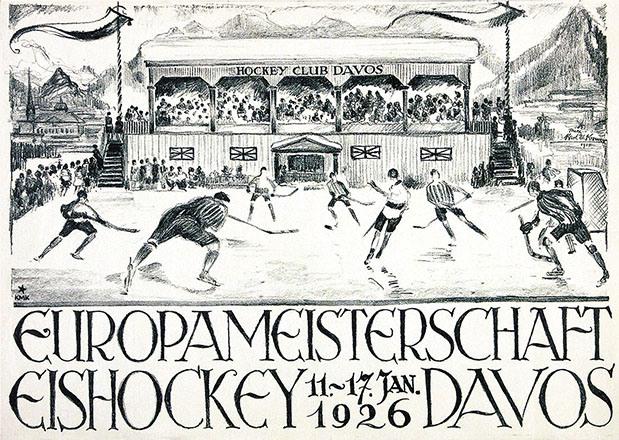 Kromer Karl Maximilian - Eishockey Europameisterschaft