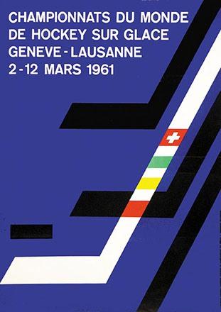 Ongaro Jean + Lucien - Championnats de Hockey